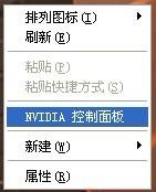 NVIDIA显示卡选项